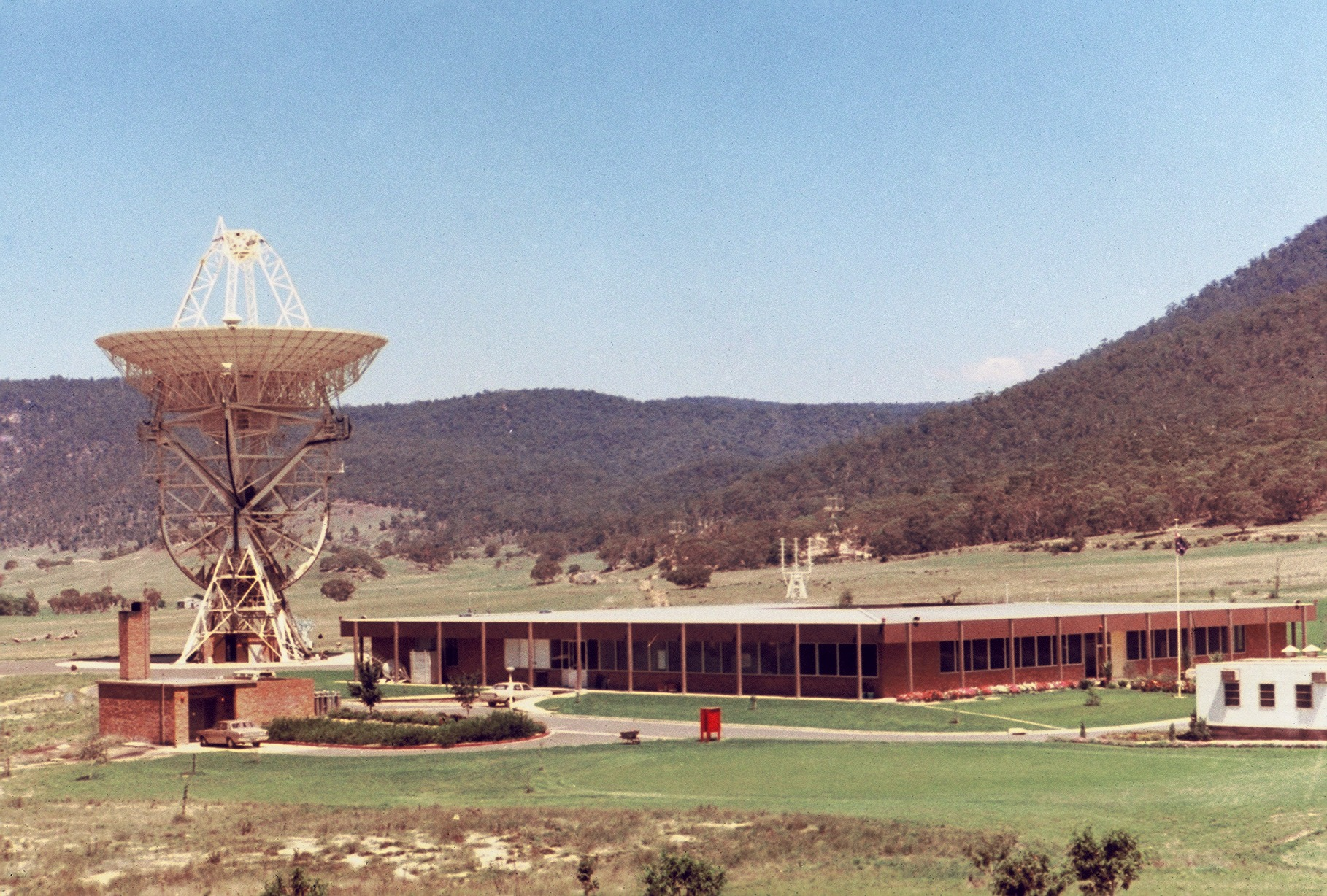 orroral tracking station 1969
