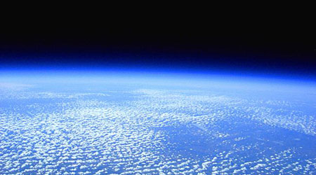spaceish view (30km up)